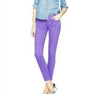 J. Crew Women's Toothpick Ankle Jeans Skinny 30